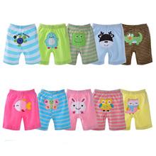 5pcs Baby Boys Girls Cotton Shorts Danrol bermudas(China (Mainland))