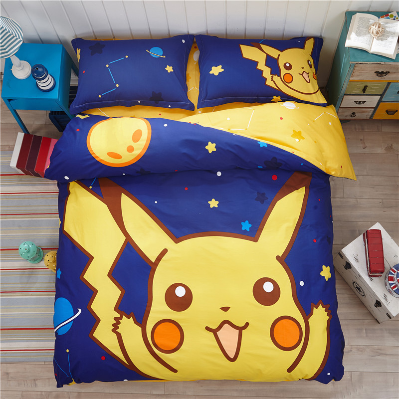 Pokemon Bedding Queen Size