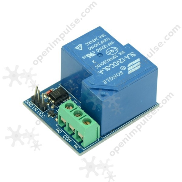 High Current Optoisolated Relay Module (30A)<br><br>Aliexpress