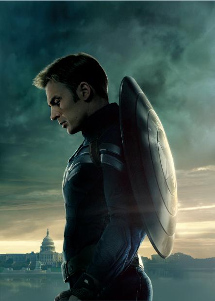 P0402 Captain America The Winter Soldier Captain Rogers capital Home Decor Posters 40x60cm
