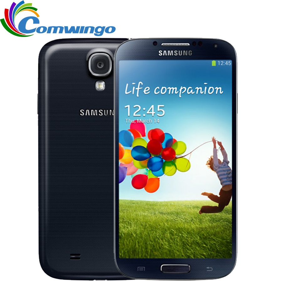 Original Unlocked Samsung Galaxy S4 SIIII i9500 Cell phone 16GB / 32GB ROM Quad-core 13MP Camera Quad Core NFC GPS Refurbished(China (Mainland))