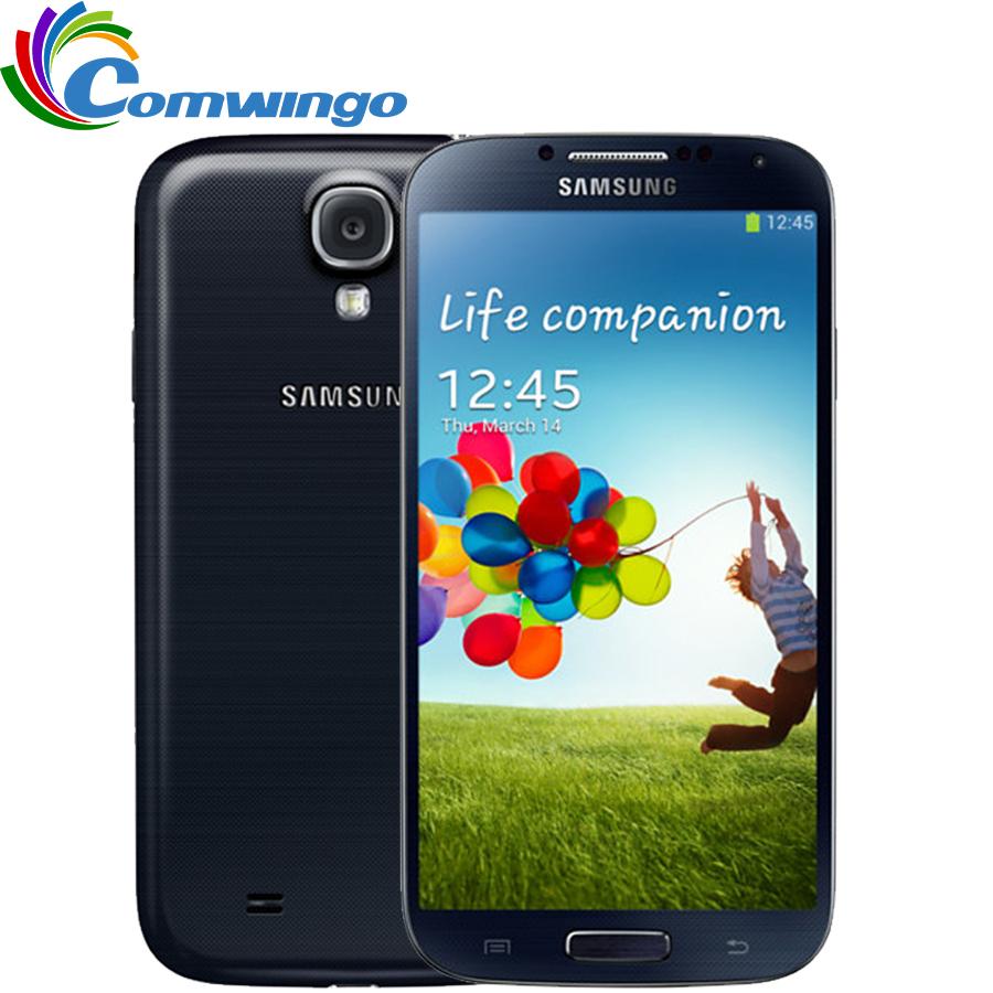 Unlocked Samsung Galaxy S4 SIIII i9500 Cell phone 16GB / 32GB ROM Quad-core 13MP Camera Quad Core NFC GPS Refurbished(China (Mainland))