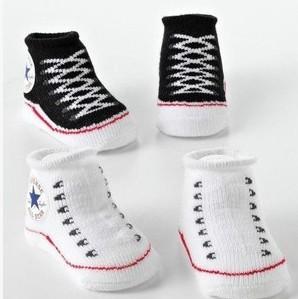 Носки 1 пара младенческой новорожденных зима 100% хлопок носок ребенок не bb-скольжения ...