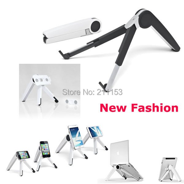 2016 Fashion Gift Aluminum Portable Laptop Tablet PC Phone Home Office Outdoor Desk Bed Stand Holder Cervical Disease Prevention(China (Mainland))