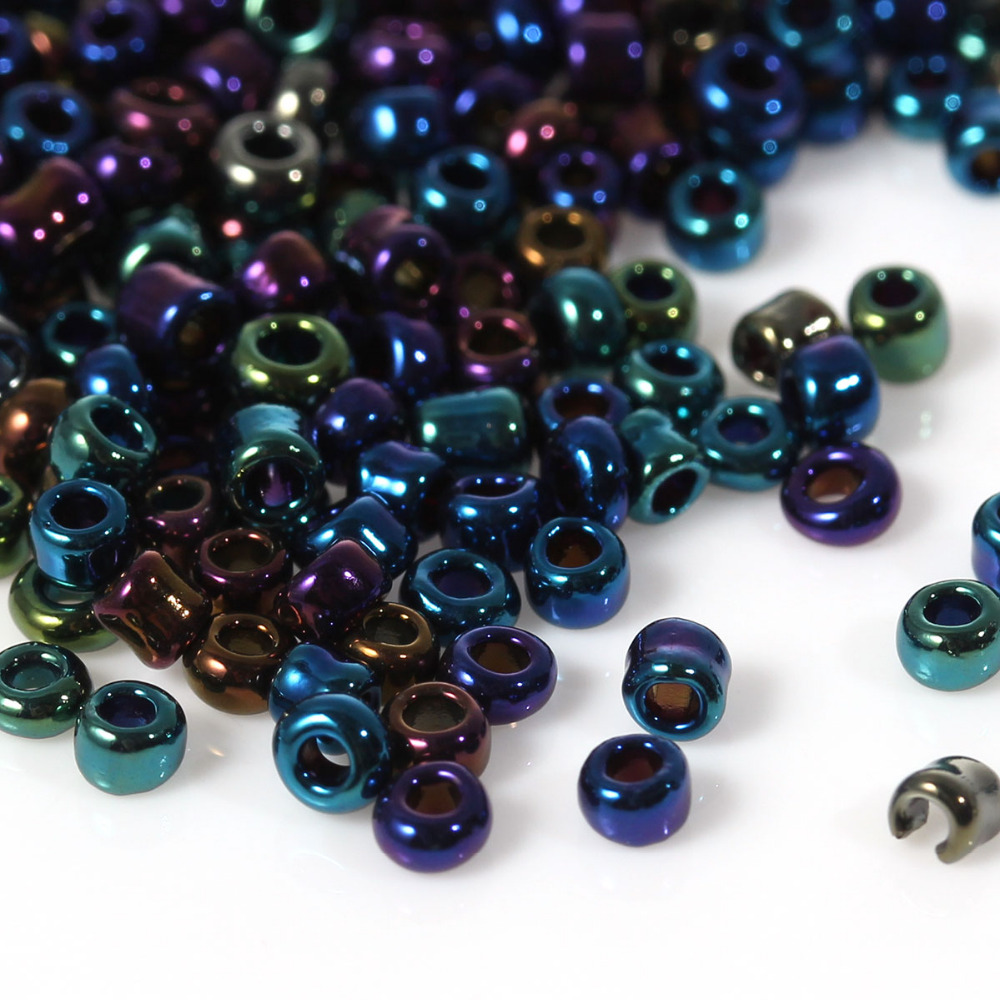 8seasons 100 g multicolor glass beads seed beads 10 0 for Natural seeds for jewelry making