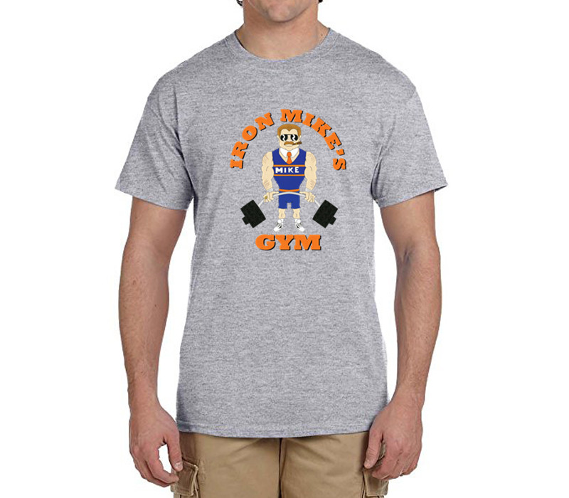 Iron Mike Ditka T-Shirt 100% cotton t shirts Mens boyfriend gift T-shirts for fans 0216-24(China (Mainland))