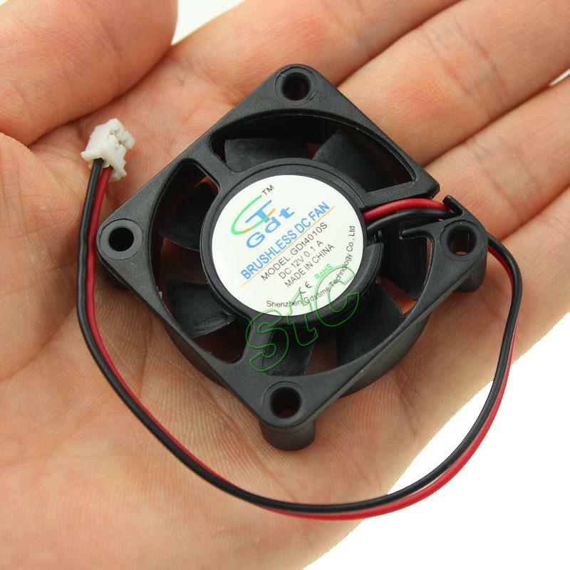 4010 10 PCS LOT GDT DC 12V 2P 40MM 40x10mm 4010S Machine fans cooling