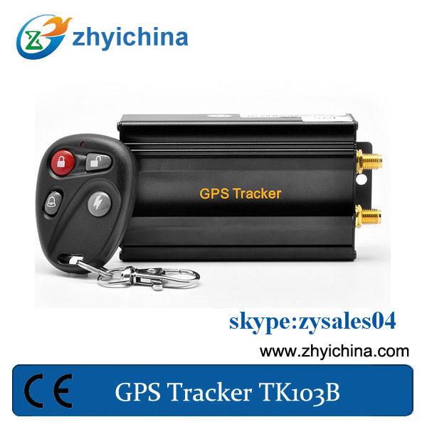 GPS tracking device for car/ taxi/truck - TK-103B +siren+shock sensor+ 1 year web online tracking  www.gpstrackerxyz.com service<br><br>Aliexpress