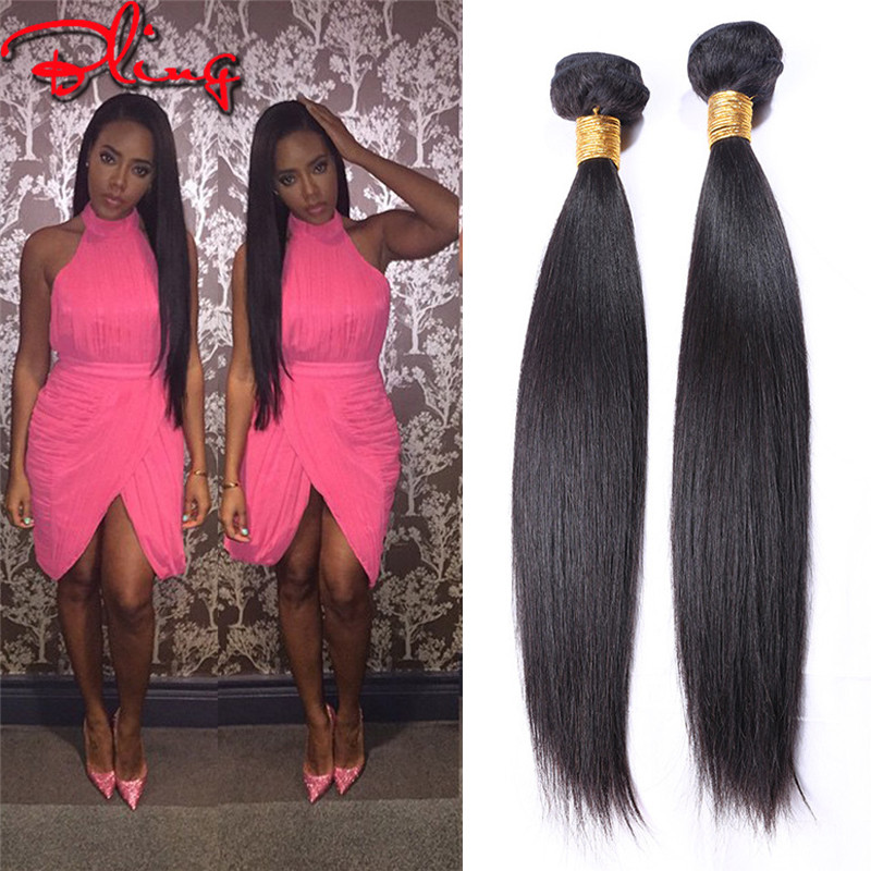 Brazilian Virgin Hair Straight 3 Bundles 6A Cheap Human Hair Weave Rosa Hair Products Unprocessed Virgin Brazilian Straight Hair