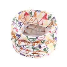 Детский хлопковый шарф с вырезом, милый детский теплый шарф с принтом, Детские воротники, осенне-зимний кольцевой шарф для мальчиков и девоч...(China)