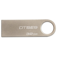 Kingston DTSE9 USB 2.0 silver metal mini usb key flash pen driver memory pendrives 64gb thumb drive 32gb 16gb 8gb free shipping