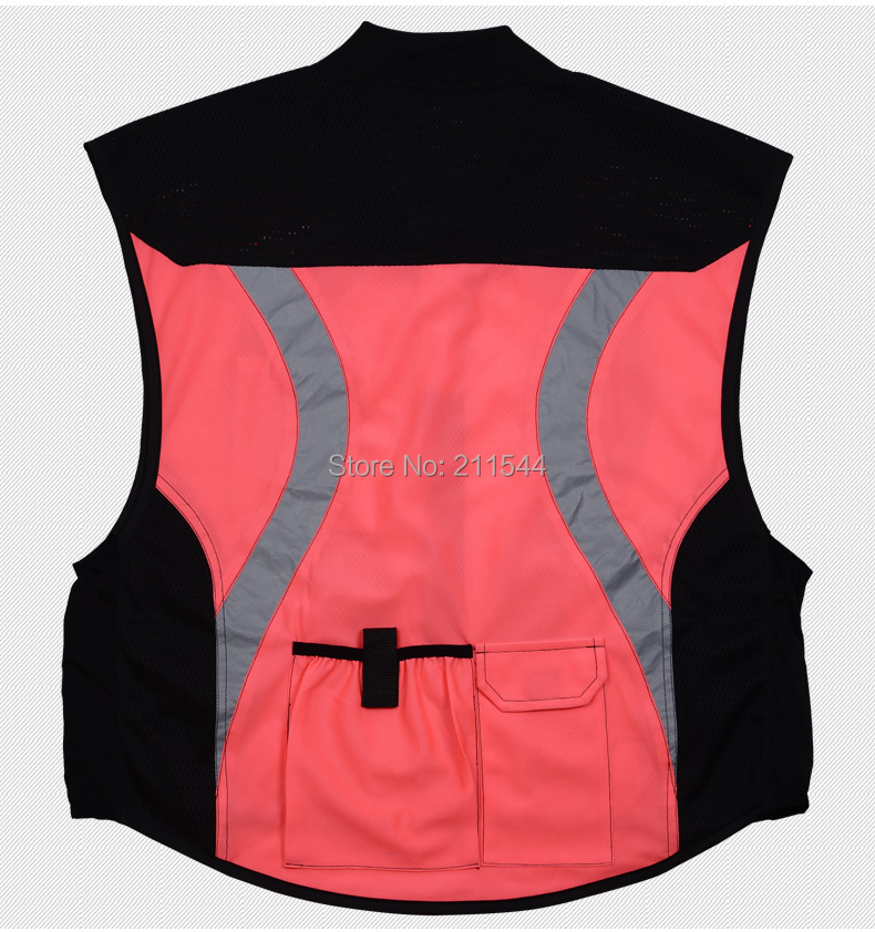 Security Safety Vests Security Vests Pink Women