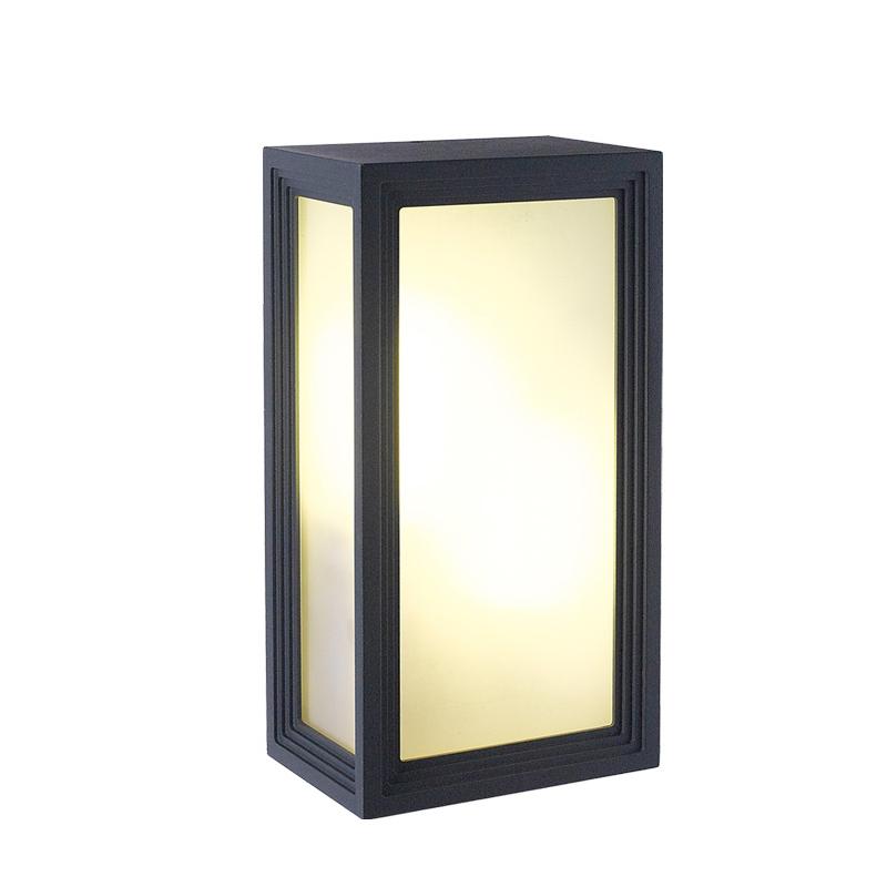 Outdoor Waterproof LED Wall Lamps Modern Simple Square Corridor Lights Garden Light AC90 260V ...