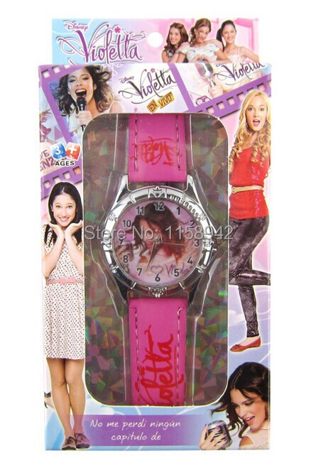 Free shipping 15 pcs Violetta watch childrens Christmas present production <br><br>Aliexpress