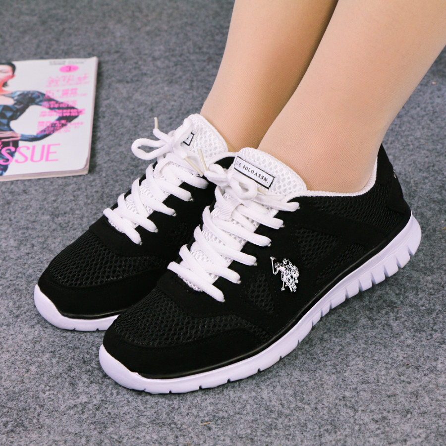 2015 women's sneakers Size 5~10Top quality POLO brand Women fashion shoes(China (Mainland))