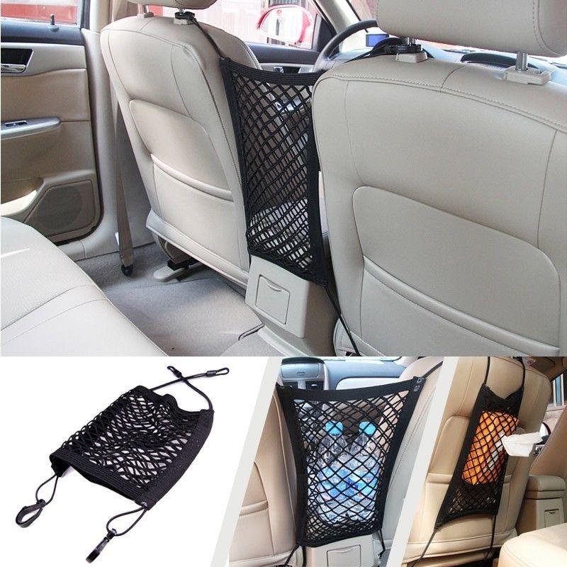 Hot Sale Universal Accessories Nylon Car Cargo Net Truck Storage Luggage Hooks Hanging Organizer Holder Seat String Bag Mesh Net(China (Mainland))