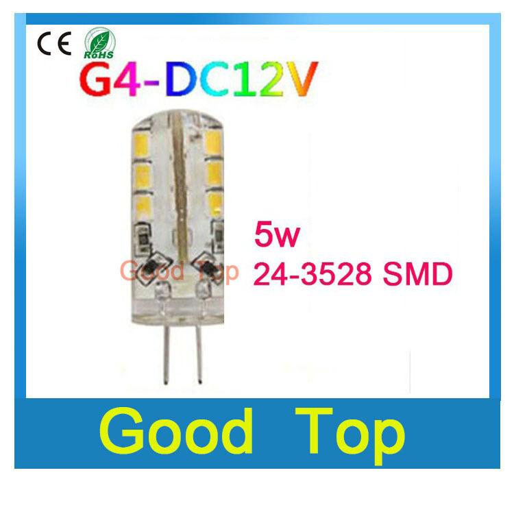 g4 lamp g4 led 12V DC 2835 3014 SMD G4 3W 5W 6W led light Replace 30W halogen Lamp 360 Beam Angle LED Bulb Lamps bulb candle(China (Mainland))