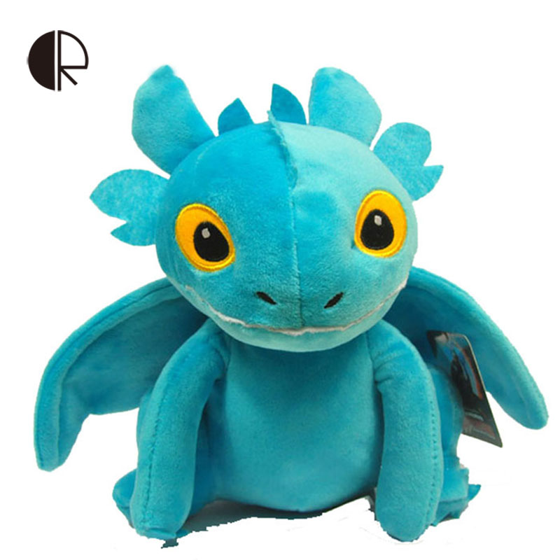 Free shipping How to Train Your Dragon Toothless Plush Decoration Toy Night fury 4 colours HT1118(China (Mainland))