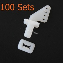 100Sets /lot Nylon Pin Horns 21x11 (4 Hole) For RC Airplane Parts Remote Control Foam Electric Plane Aeromodelo FM11-605B(China (Mainland))