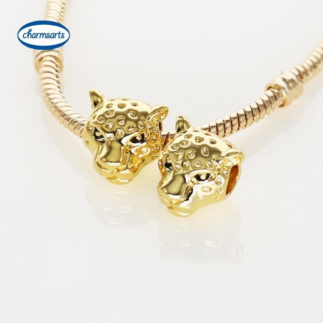Высокое качество позолоченный подвески лев тигр леопарда медведь сова лягушка DIY ...