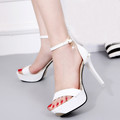 Women s Summer Shoes Open Toe Sandals Zapatos mujer Sweet Party Superstar Female Fine High Heel