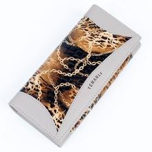 Ausuky Fashion Women Wallet Female Long Wallets female wallet purse wholesale leather wallet Korean pochette portfolio 50(China (Mainland))
