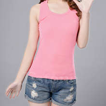1pc Hot Sexy Women's Lady Casual Vest Tank Tops Sleeveless New Multi-Color(China (Mainland))