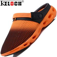 Keloch 2016 Sandals Men Fashion Style Breathable Mesh Shoes Women Sandals Shoes Summer Clogs Men Shoes