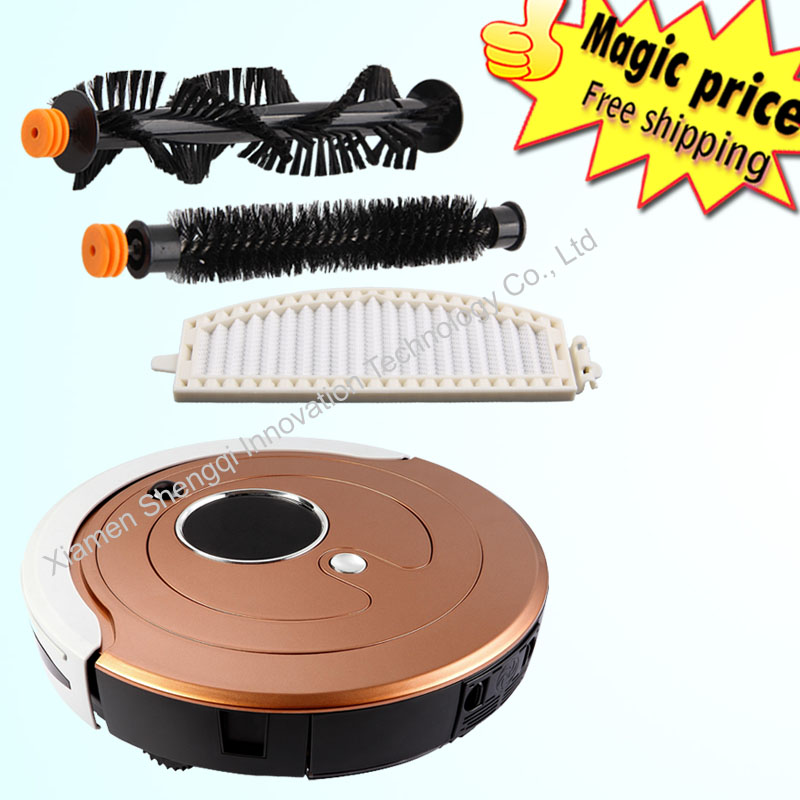 new hot intelligent sweeping vacuum cleaner for home automatic cleaning slim remote control robot clean(China (Mainland))