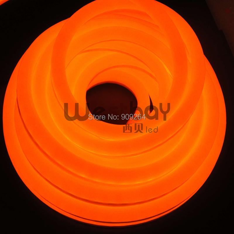 Neon Light Shop In Philippines: Mini DC12V Orange Led Neon Flex, High Quality Neon Flex