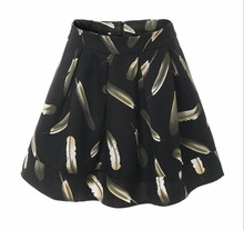 Buy 2017 Summer Autumn Midi Skirt Womens Vintage Casual Print Pleated Skirts A-line Mini Skirt High Waist for $13.99 in AliExpress store