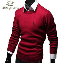 2016 Hot-selling  Men's Slim Fit  Pullover Sweater Fashion Casual Deer Pattern  Pullover High Quality  MZL245(China (Mainland))