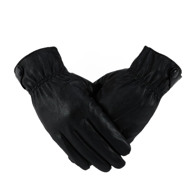 2013 new men's high-grade artificial leather gloves  Free shipping