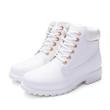 2019 heißer Neue Herbst Frühen Winter Schuhe Frauen Flache Ferse Stiefel Mode warm Halten frauen Stiefel Marke Frau Knöchel botas Camouflage(China)