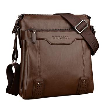 2016 люксовый бренд дизайн мужчины сумка повседневная мужчины сумка почтальона сумочки винтаж Кожа мужская бизнес портфель сумка