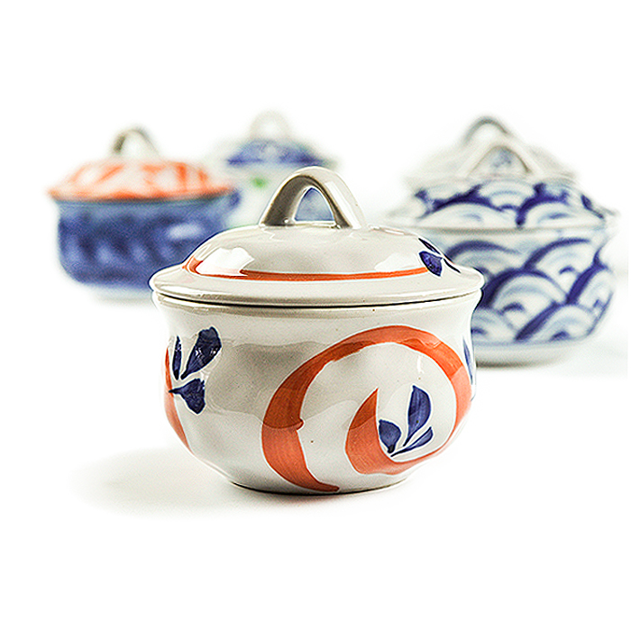 Korean and Japanese wind hand-painted ceramic tableware bowl soup tureen steamed egg cup creative sweethearts bowl bowl<br><br>Aliexpress