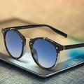 2016 Retro Female Male Sunglasses Women Brand Designer Mirror Shades Vintage Points Ladies Sun Glasses Woman