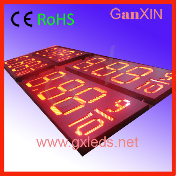 18inch outdoor waterproof led gas price sign aliexpress(China (Mainland))