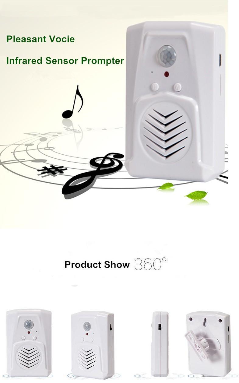 Купить PIR Датчик Движения Аудио Плеер, Датчик движения Динамик