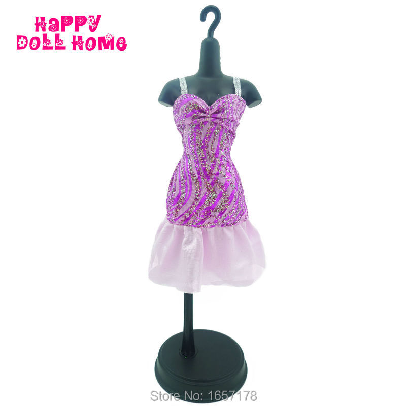 Trend Costume Summer time Mini Robe Dinner Celebration Costume Princess Outfit Garments For Barbie Doll Kurhn FR Toys Present Free Delivery