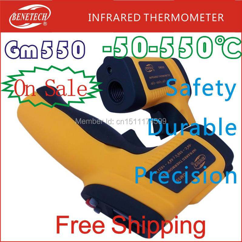 GM550 IR infrared thermometer temperature measurement module non-contact electronic laser thermometer 550 degrees Precise Gun(China (Mainland))