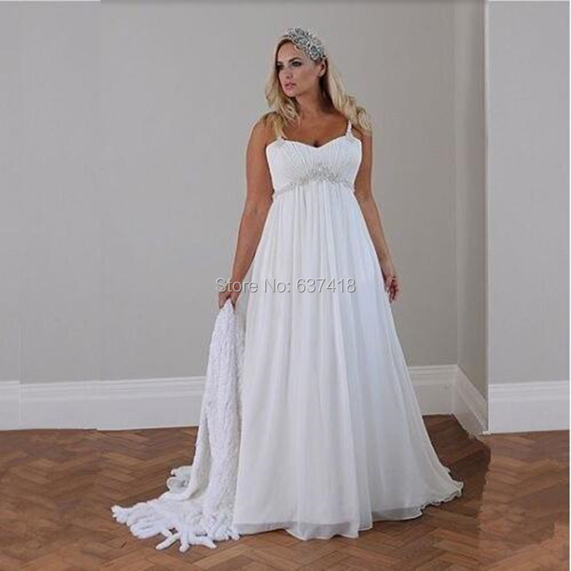 Plus size wedding dresses under 100 great ideas for for Simple wedding dresses under 200