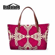Buy Dispalang brand women handbag floral prints ladies large tote bag large capacity female shoulder bag casual beach bag sac main for $25.99 in AliExpress store