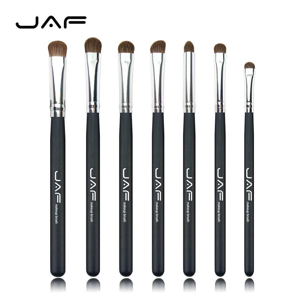 Natural Hair Eye Makeup Brushes Set Professional Eyeshadow Brush For Makeup Shadow Make Up ...
