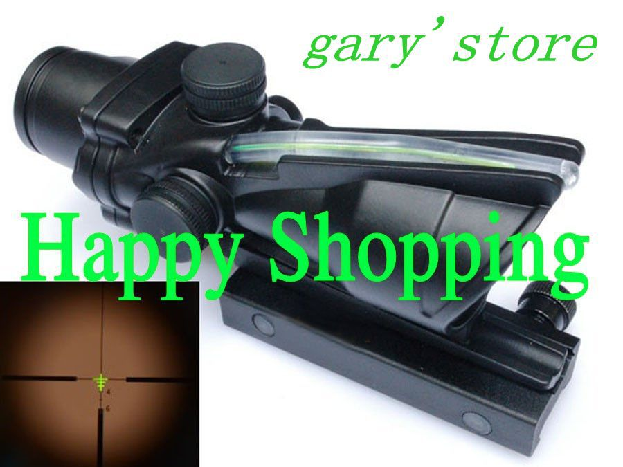 ACOG 4x32 Riflescope Green Optical Fiber Works really Free shipping<br><br>Aliexpress