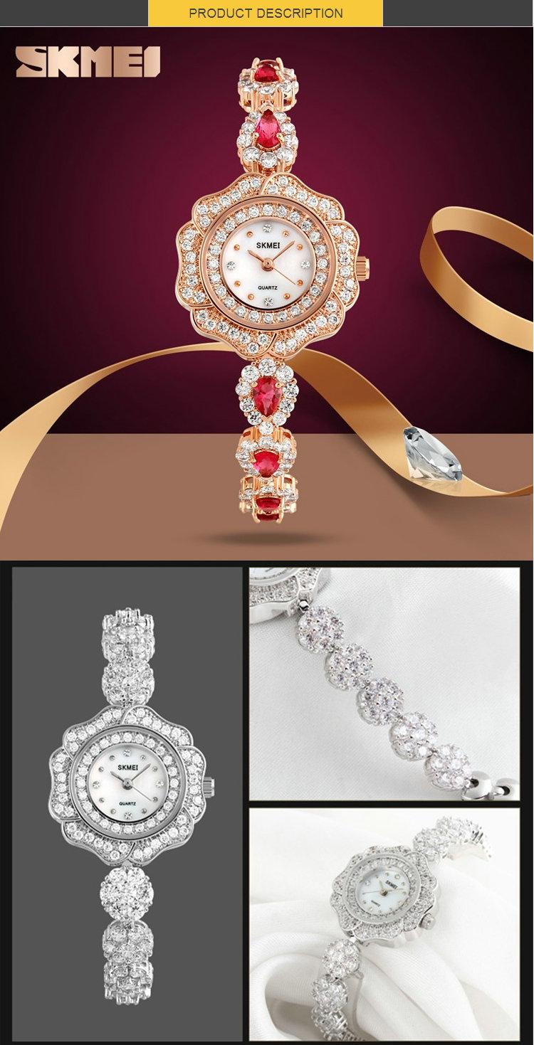 Skmei 1199 марка женщин смотреть relojes де mujer японии движения diamond часы
