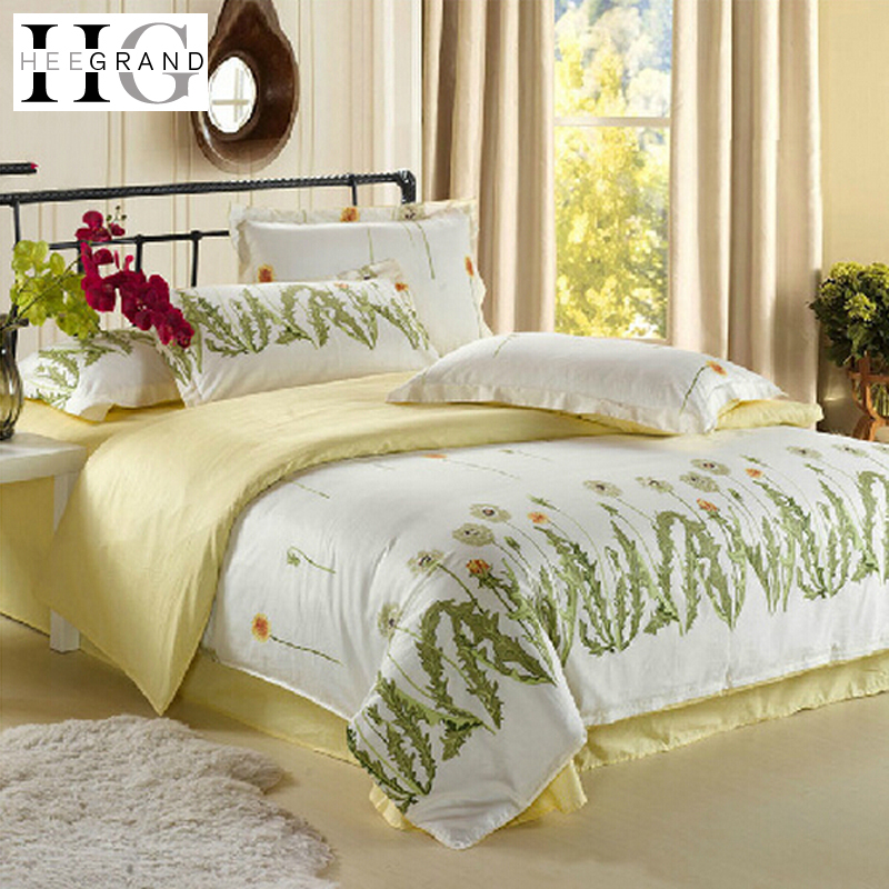 Bedding Set 2015 Fanshion Comfortable Twin And King Size Brief Style Duvet Cover Setting 18 Colors Bed Sheet Jogo De Cama(China (Mainland))