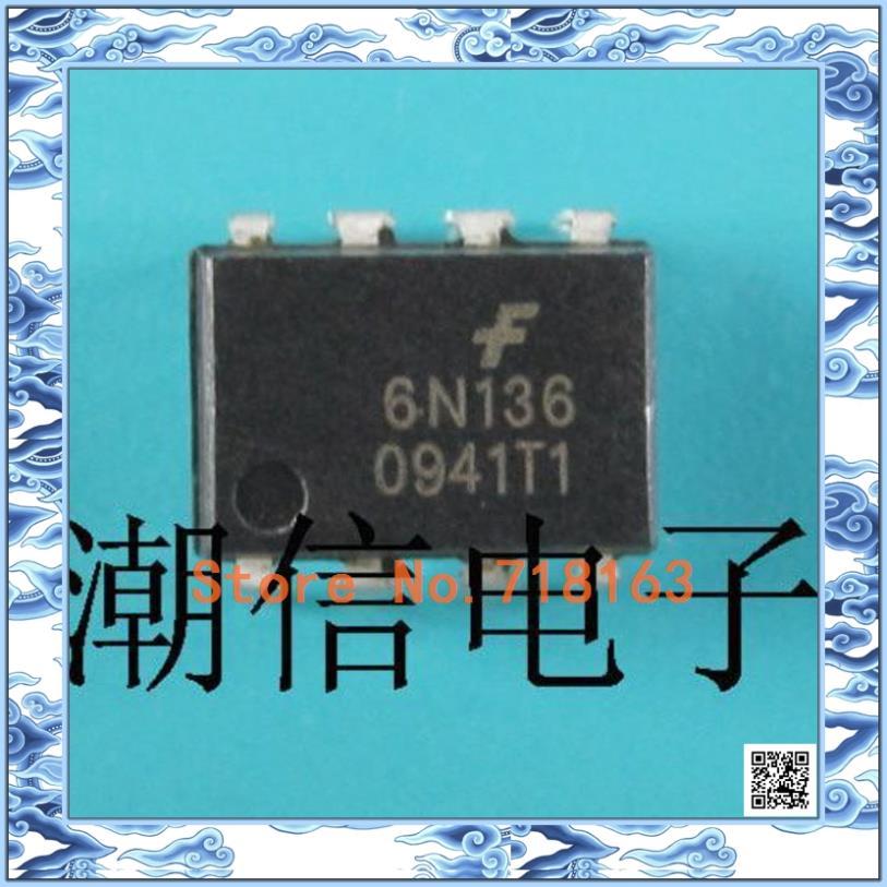 10 ШТ. 6N136 [DIP] DIP-8 Марка акции и оригинальный Новый tda16888 dip