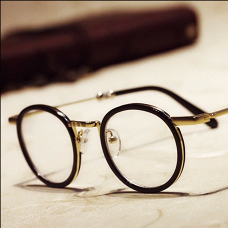 Gold Frame Vintage Glasses : vintage gold frame glasses for men Global Business Forum ...