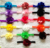 "Hair accessories 10pcs/lot, 3.3"" Multi Colored chiffon satin Flower infant baby kids headband hairband Christmas gift low price"